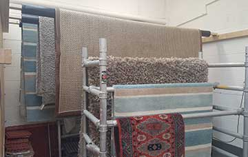 Rug Drying Step 9 of Rug Cleaning Process