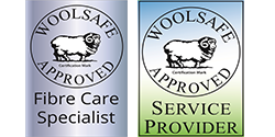 Woolsafe Approved members for wool rug cleaning