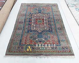 Persian Wool Rug Washing Before