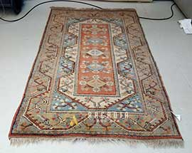 Turkish Milas Rug Cleaning After