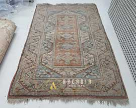 Turkish Milas Rug Cleaning Before